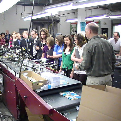 educational tours at larkin industries twin cities