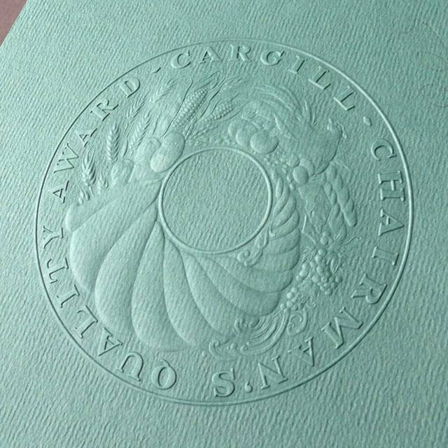 Embossing Larkin Industries St Paul